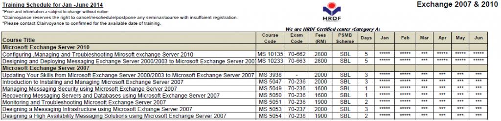 Exchange Server 2007& 2010